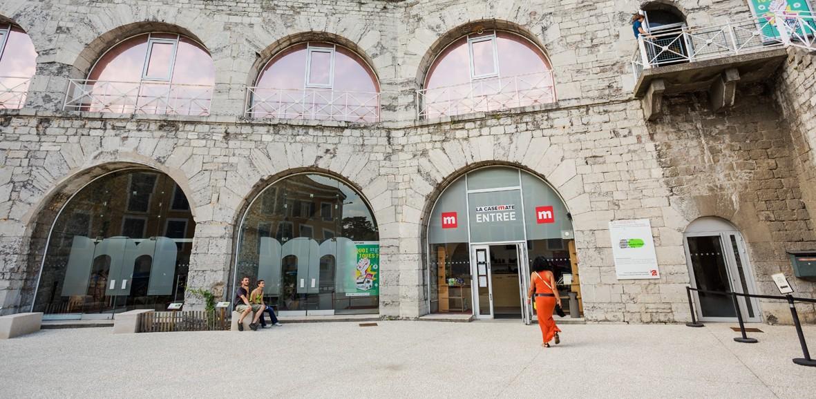 Façade de La Casemate à Grenoble © Pierre Jayet (3)