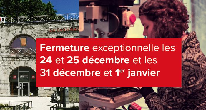 Nous sommes exceptionnellement fermés les 2 prochains week-ends #vacancesdenoel Passez nous voir du mardi au vendredi ! #àvosagendas