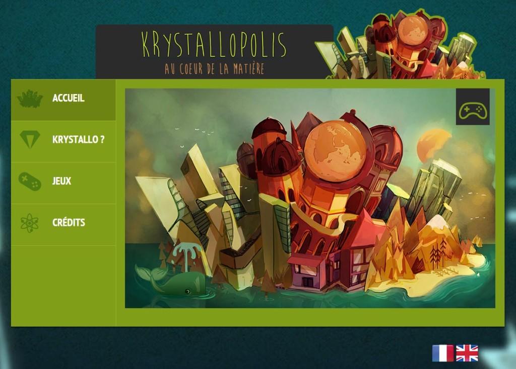 Krystallopolis, voyage au coeur de la matière