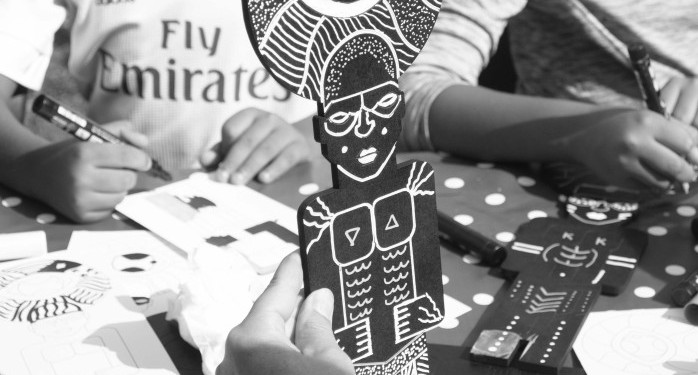 Atelier statuettes Black White Zulus