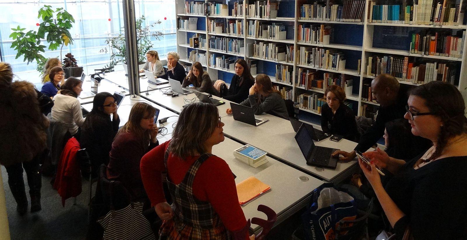 Editathon Femmes de sciences à la Cité des sciences