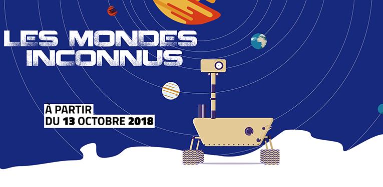 Présentation de l'exposition Les Mondes Inconnus à La Casemate