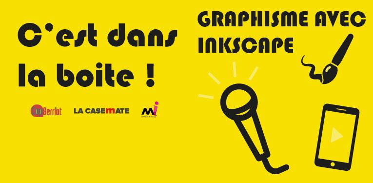 C'est dana la boîte Formation 15-25 ans Graphisme avec Inkscape