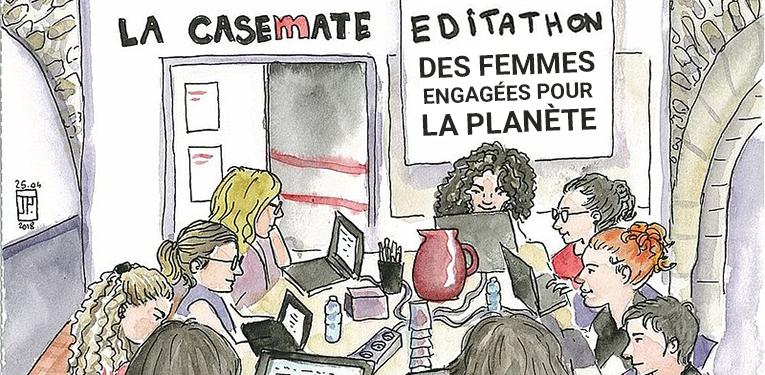 Editathon La Casemate - Des femmes engagées pour la planète